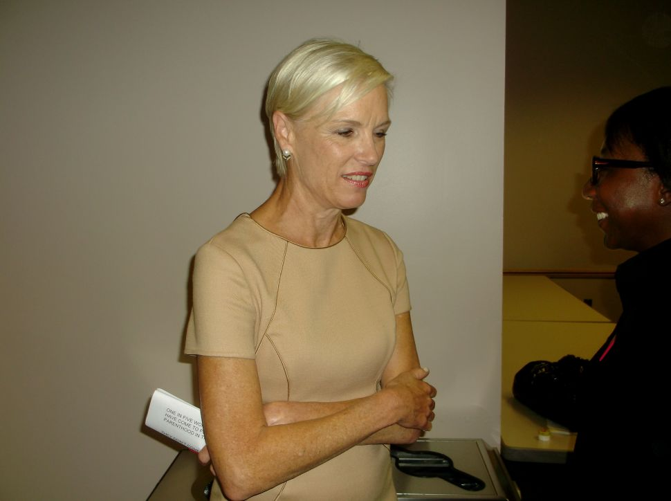 Planned Parenthood political director says group will help Buono raise money