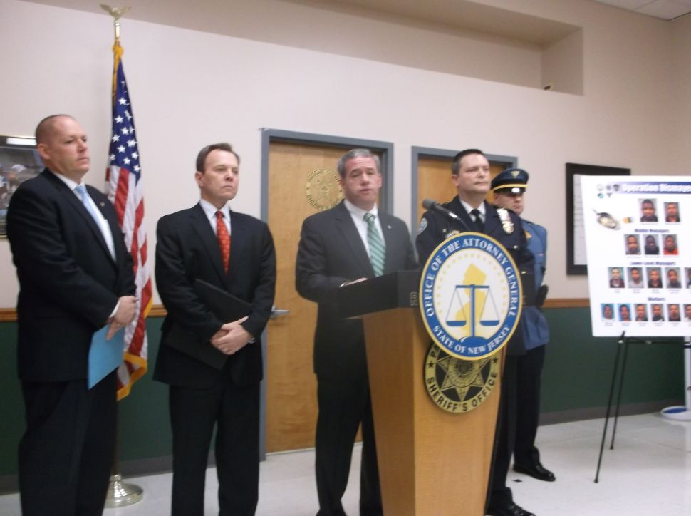 Chiesa announces arrest of 15 in connection with Paterson heroin bust