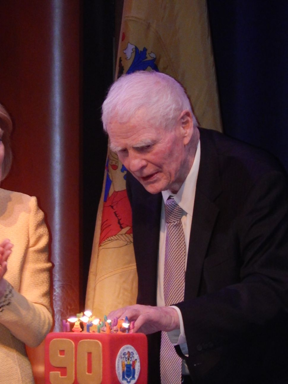 Political insiders roast Brendan Byrne on the occasion of his 90th Birthday