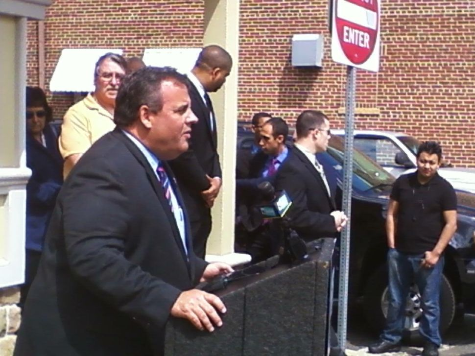 Christie blames Buono allies for initiating negative attacks