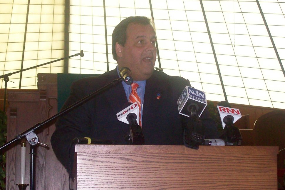 Christie does not expect to diverge from game plan on property tax question