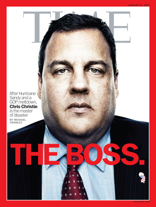 Christie on Time cover: A reflection of 'extraordinary' work everyone in N.J. is doing