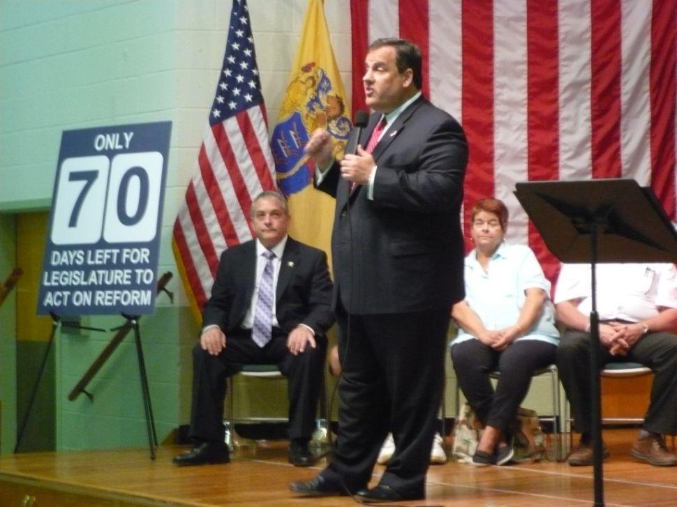 On Christie' reform challenge, only 70 days left for legislature action