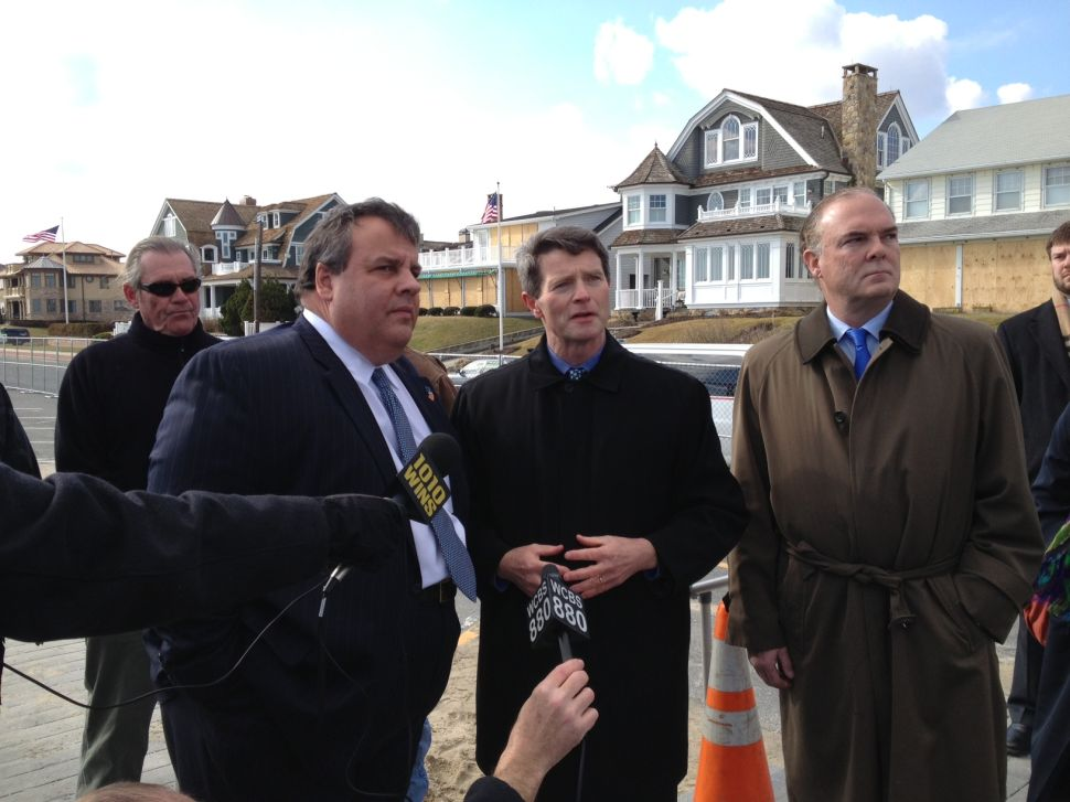 Christie: $1.8B in Sandy recovery aid could be on way soon