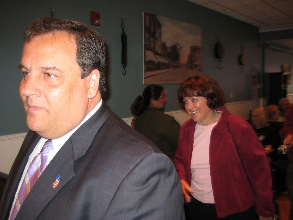 Christie, auditioning Donovan for LG, says Corzine 'is going to try to make me look like Rosemary's Baby'