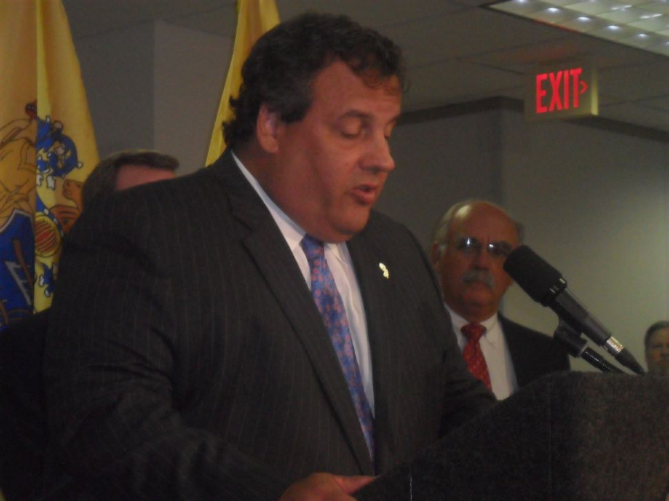 Christie will address GOP Governors; Lonegan to speak at Club for Growth, CPAC