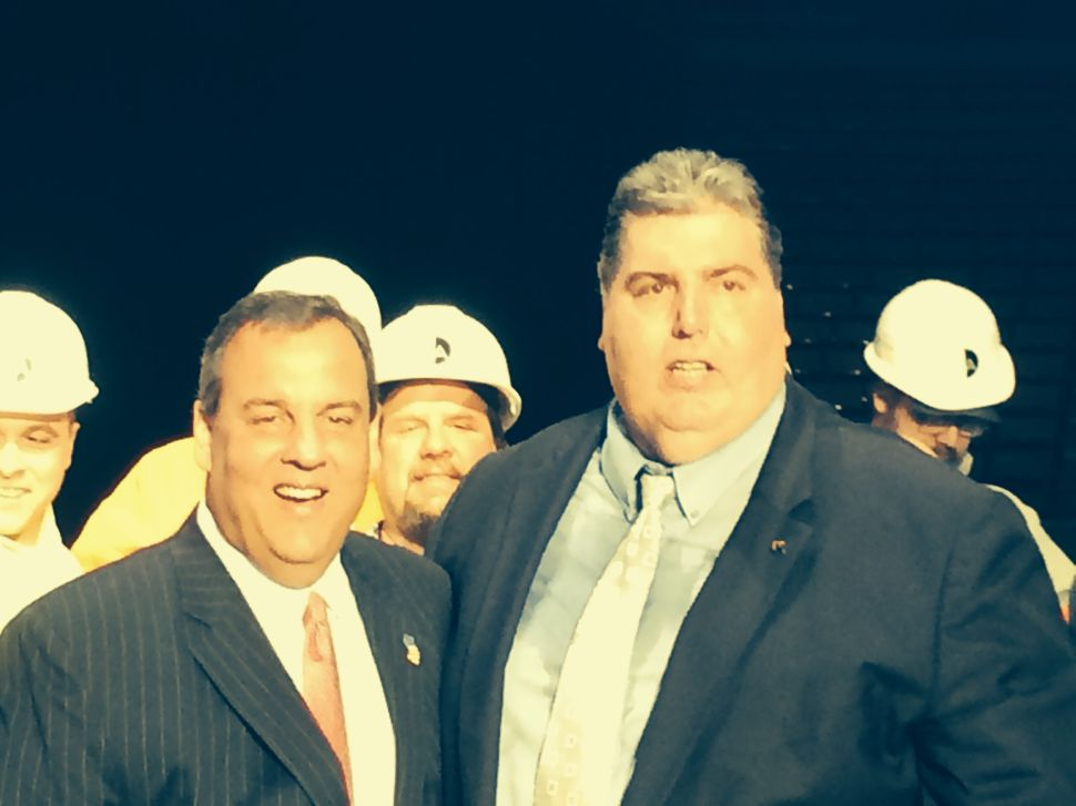 Christie, Bergen County Exec candidates on hand as labor agreement signed to jumpstart American Dream Meadowlands project