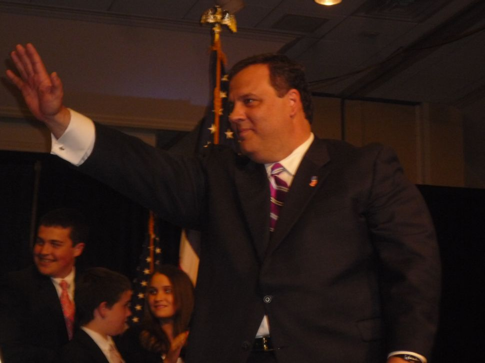 Christie vows stronger budget hand and auditor help, while Lonegan proposes flat tax