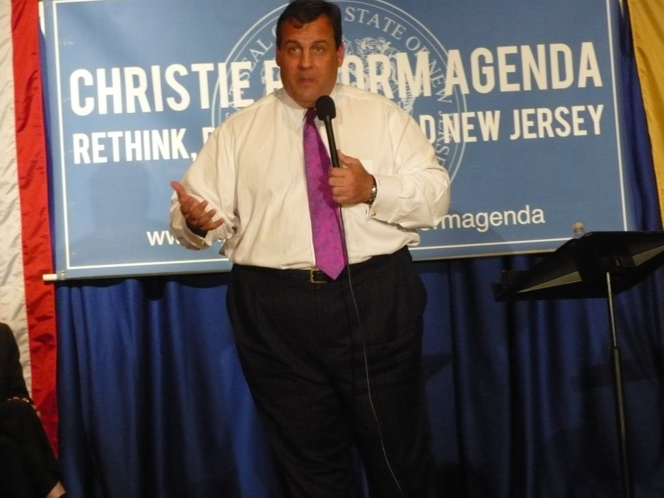 Christie credits parents for his personality, work ethic