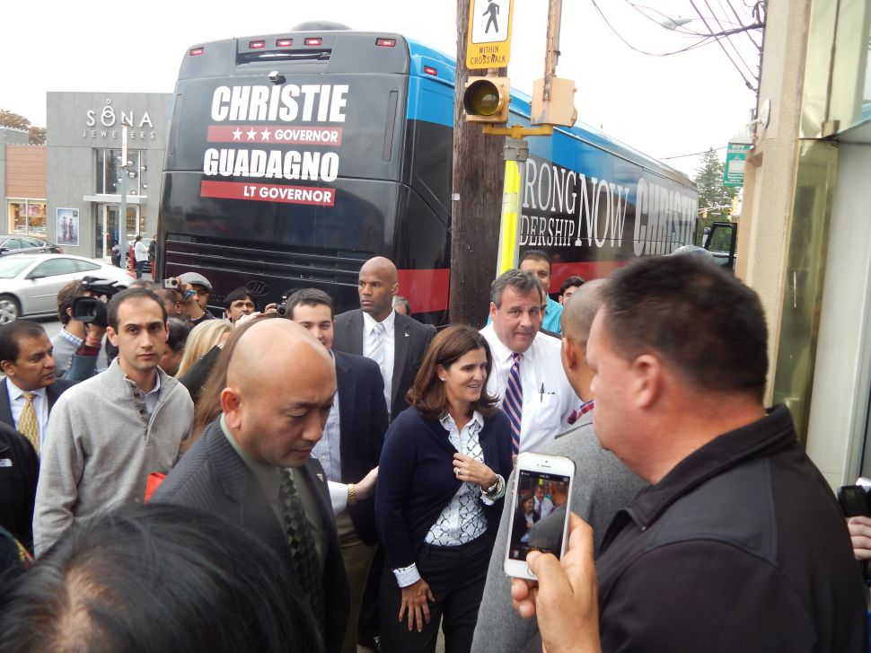 Kean U Poll: Christie 54%, Buono 36%