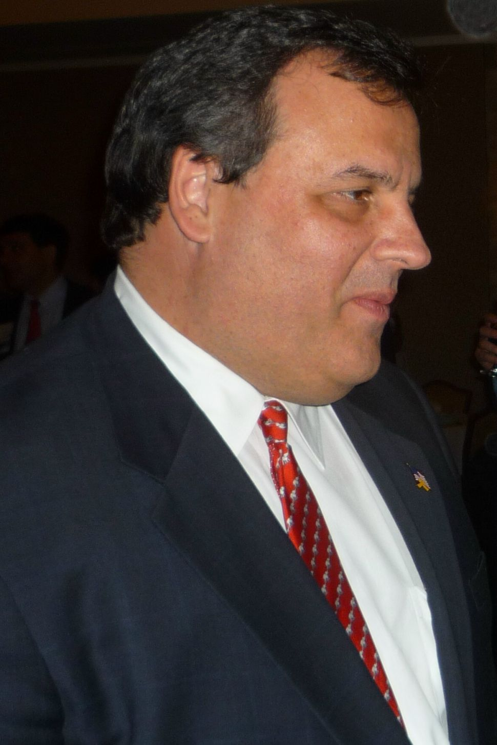 Casagrande welcomes Christie to Colts Neck