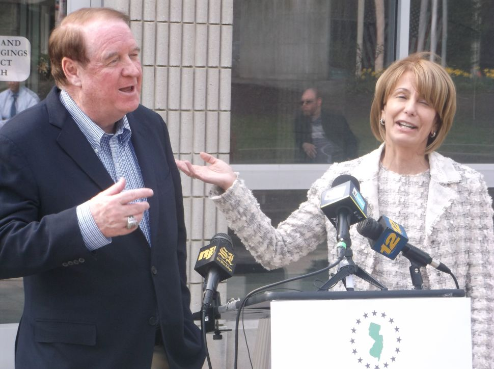Beside Buono, Codey criticizes DiVincenzo over ticket remark