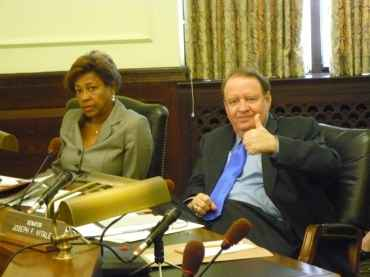 Telecommunications deregs out of committee