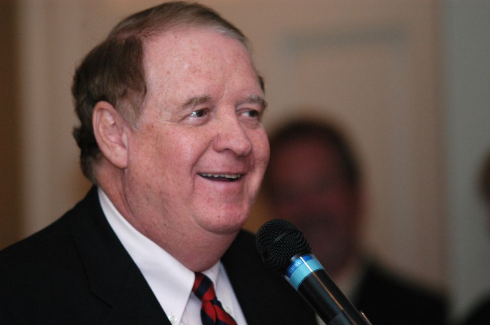 Codey: Wrong for Christie to Say He Will 'Run Over' Baraka