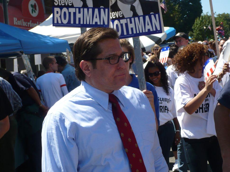 Rothman: We'll keep our earmarks, Mr. President