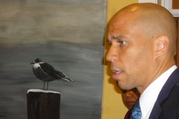Booker dismisses idea he stayed out of gov race because of Christie's popularity
