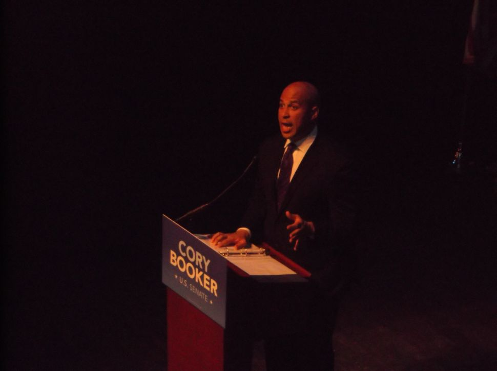 Derided by defeated opponent for Hollywood ties, Booker vows 'hard, humble' service for NJ