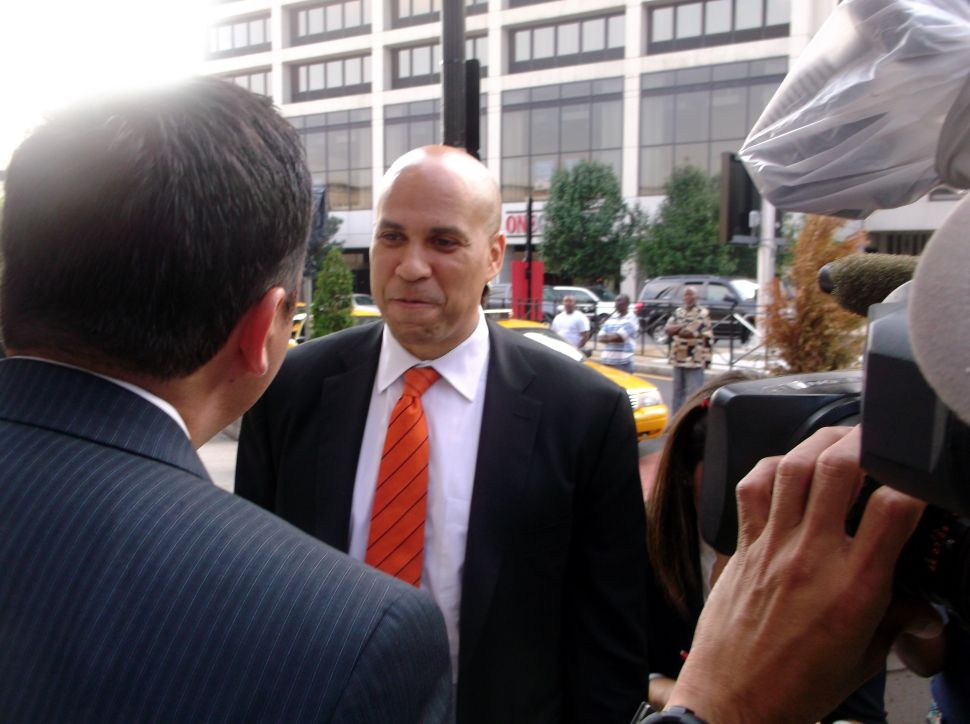 Booker turns to Facebook, not Twitter, to tap chief of staff