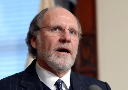 If you can't catch a fish in West Windsor, you can hold Jon Corzine accountable