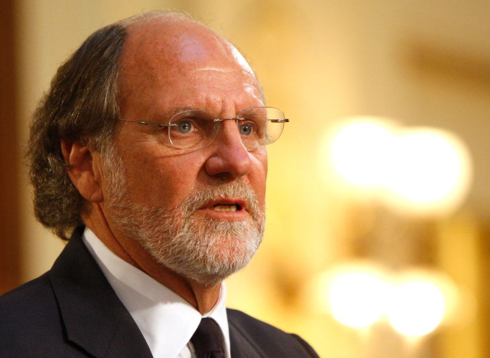 The Return of Jon Corzine
