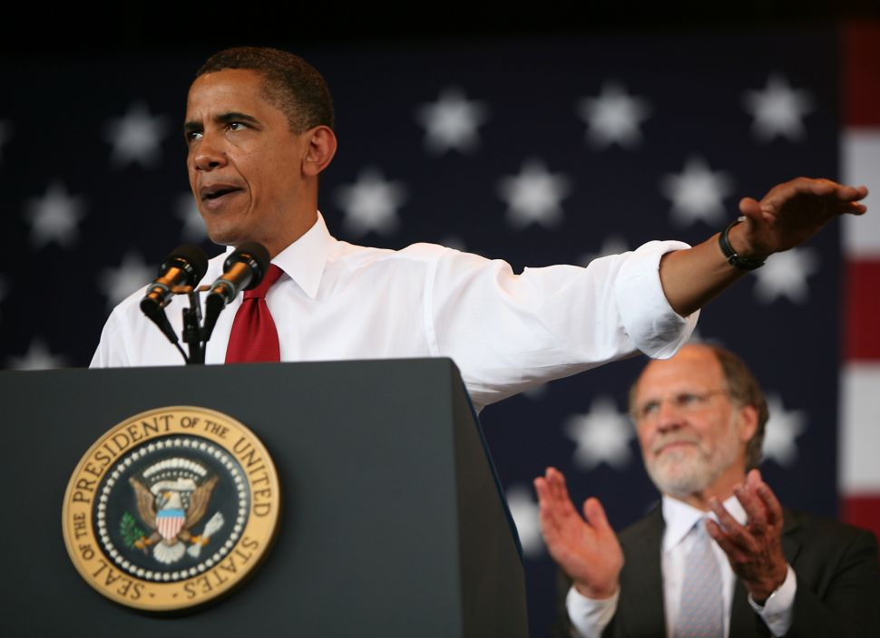 Obama rally for Corzine set for 10/21