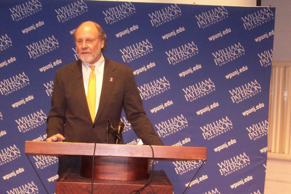 Corzine: they've made me look like a 'serial killer in a sweater vest'