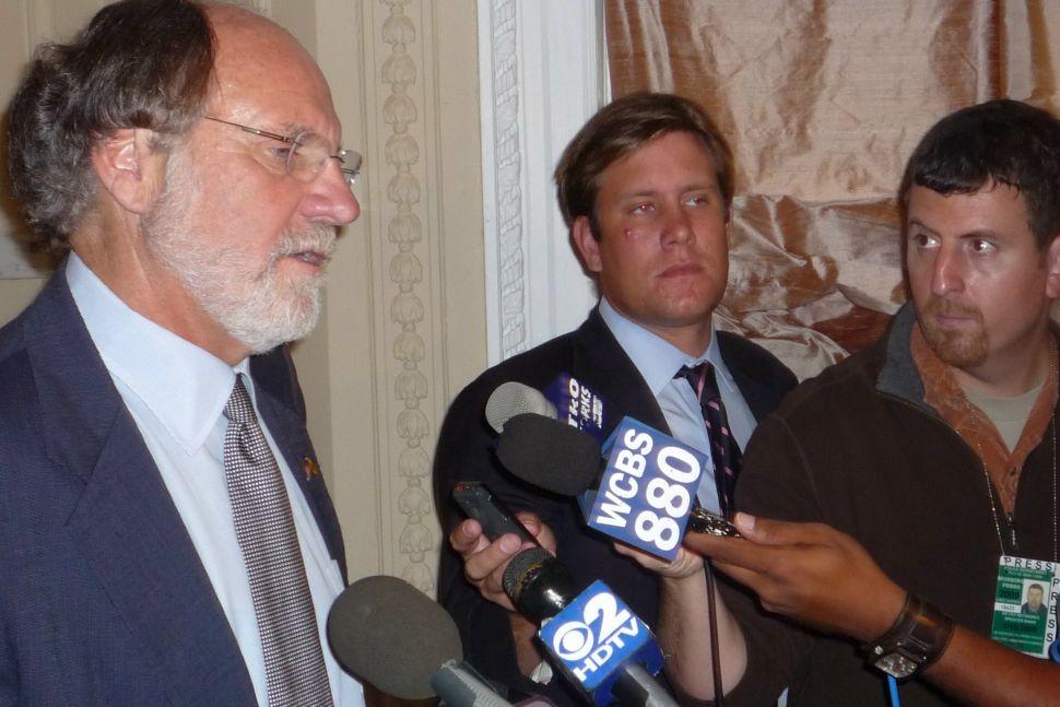Corzine on Clinton – and treasury