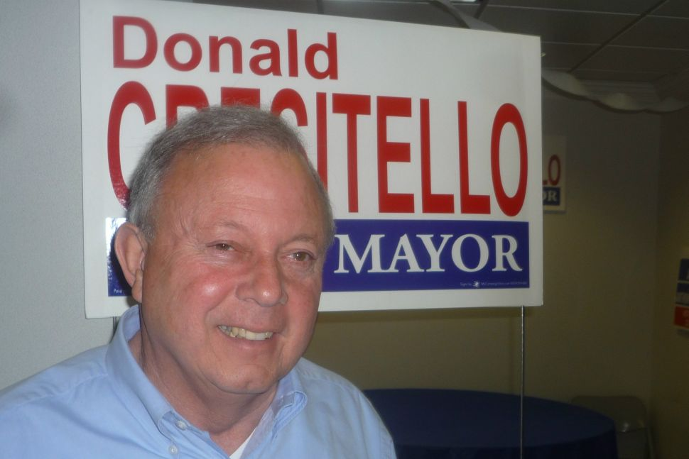 In event he loses primary, Cresitello would support Dougherty, while Dougherty remains coy