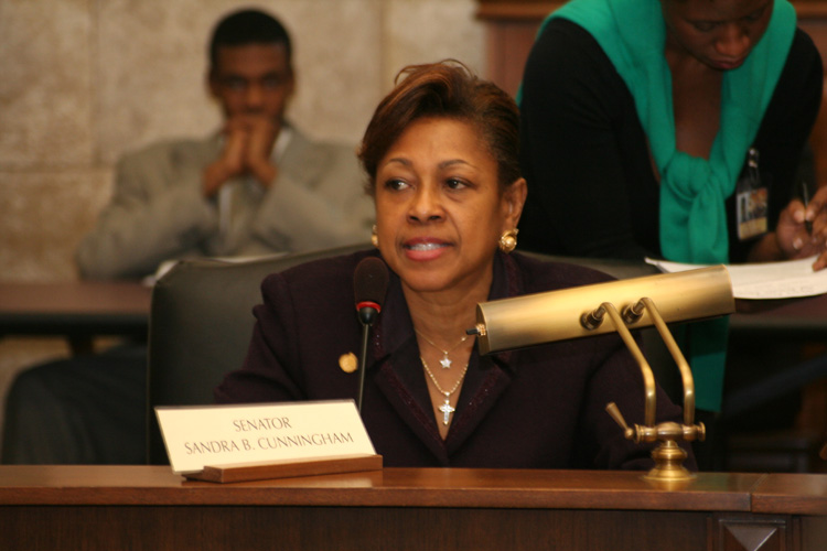 As '11 primary approaches, Cunningham watches her back