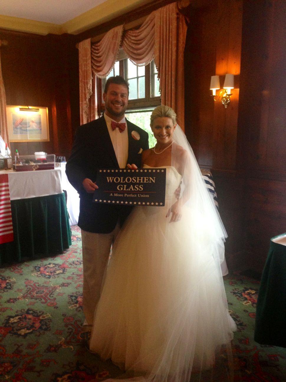 Congrats to Amanda Woloshen and Dave Glass