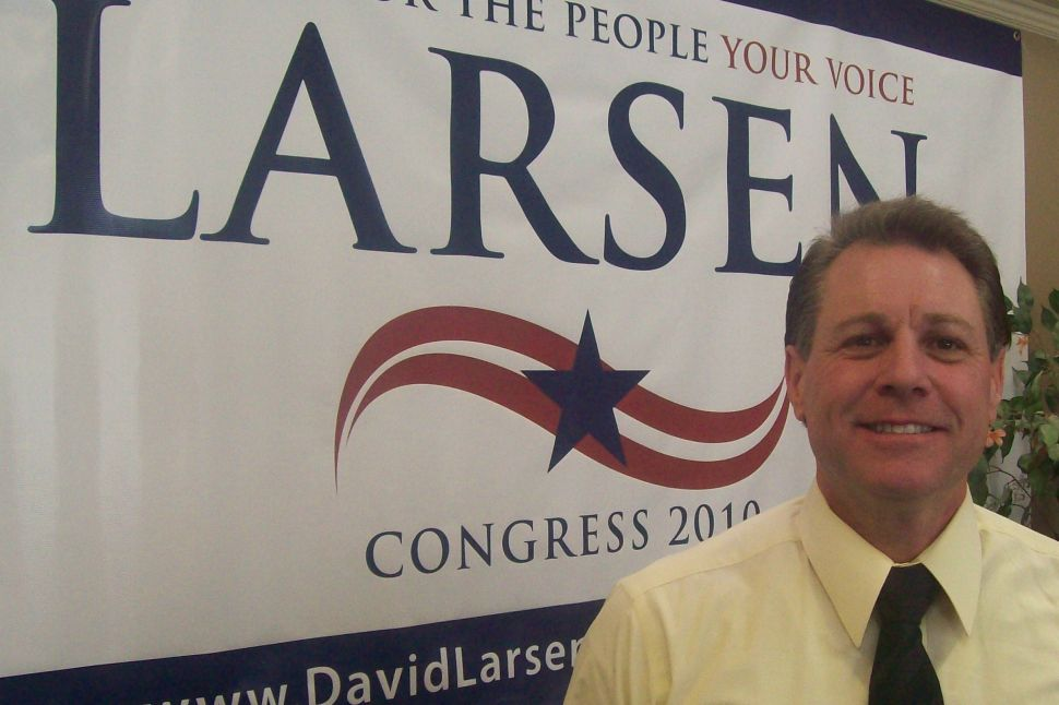 Larsen admits to property tax problem as Lance marches to another victory in their home county