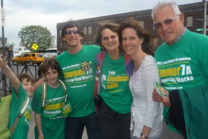 Zimmer counts on her base as Mason and Raia wage a big money war in Hoboken