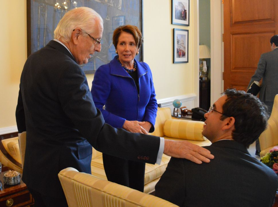 Fulop spends a day in Washington, sits down with Pelosi
