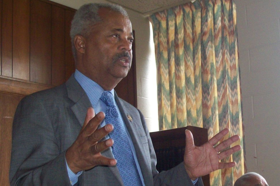 The base of the base: in a locally dormant South Ward election year, Payne pitches Obama
