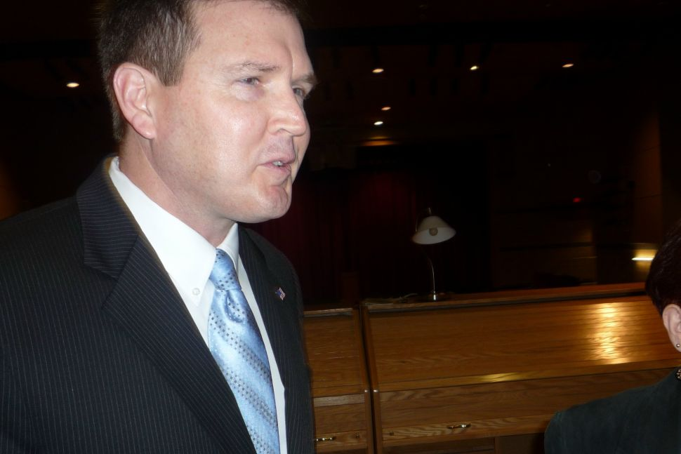 Doherty presents himself as the fiscal and social conservative