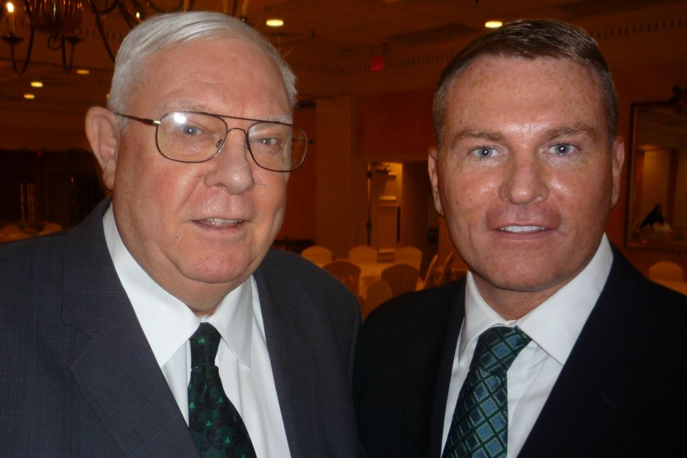 The Irish honor one of their own: former Democratic Party Chairman Ray Durkin