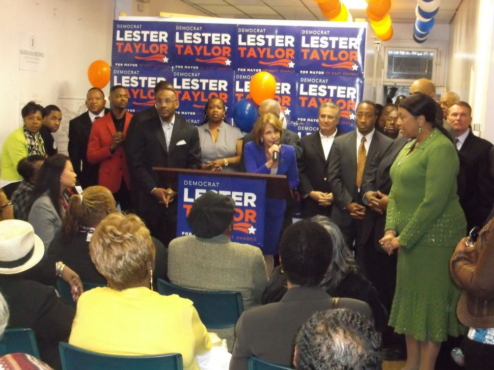 On LD 34 incumbent ticket, Oliver and Gill welcome Buono to EO HQ grand opening