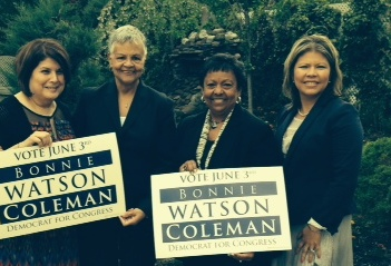 Latinas United for Political Empowerment back Watson Coleman in CD 12