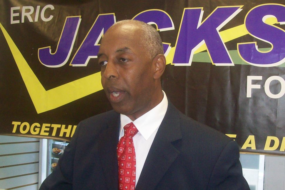 Jackson won't drop out of mayor's race, goes nuclear on Segura