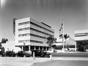 The future site of the Los Angeles NeueHouse (Courtesy os Angeles Public Library Photo Collection).