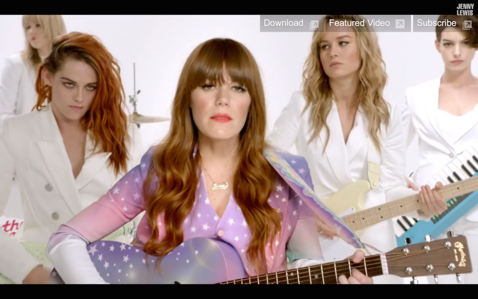 Androgyny Is the New Black in Jenny Lewis' Star-Studded New Music Video