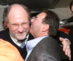Christie calls Ferriero a 'disgrace' and Corzine an 'enabler'
