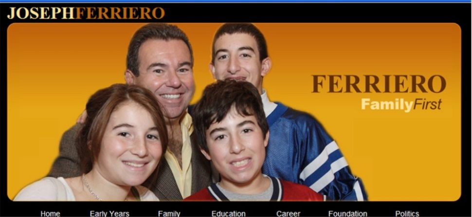 'Welcome Joe Ferriero friends.  Joe's Site is Temporarily Unavailable. Check back soon.'