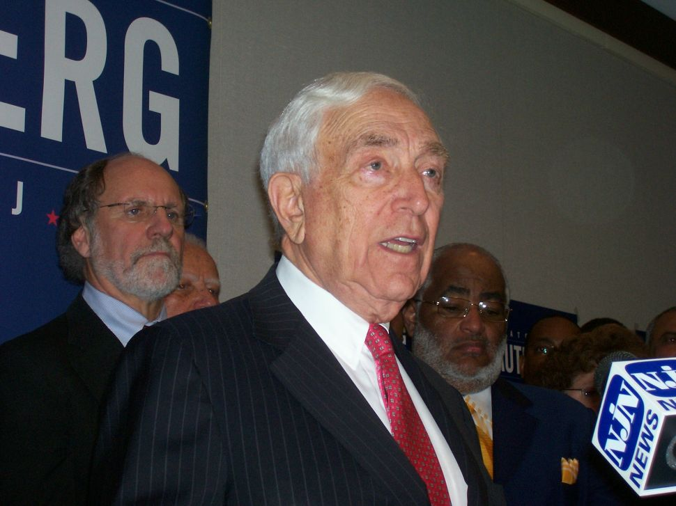 Lautenberg kicks off senate re-election campaign