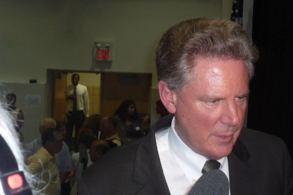 At town hall meeting, Pallone doesn't change his mind on public healthcare option