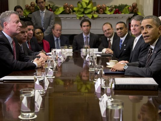 Fulop meets Obama for the first time at White House mayors' confab
