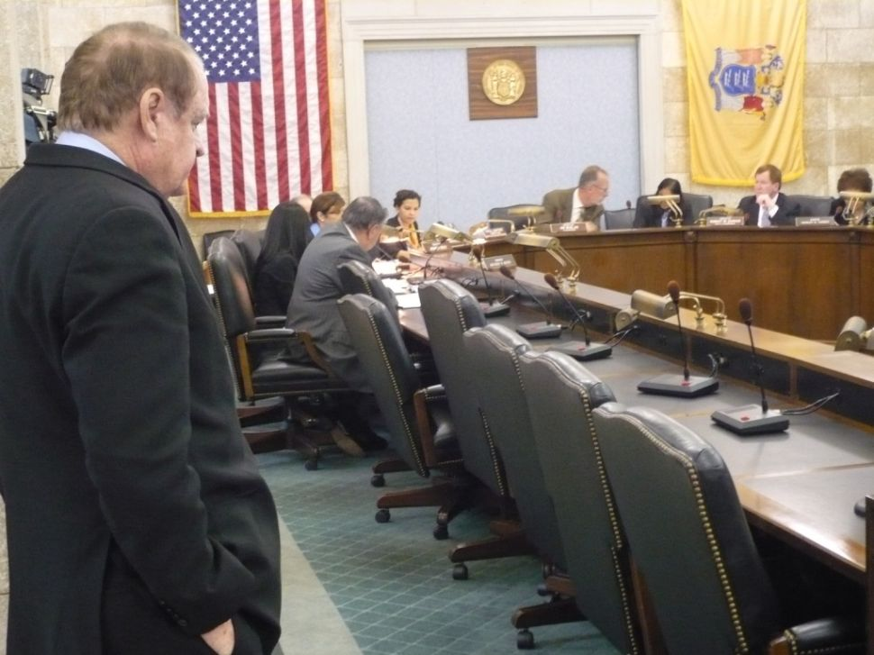 Dick Codey examines the Trenton power nexus, roasts Schundler, and acknowledges the target on his back