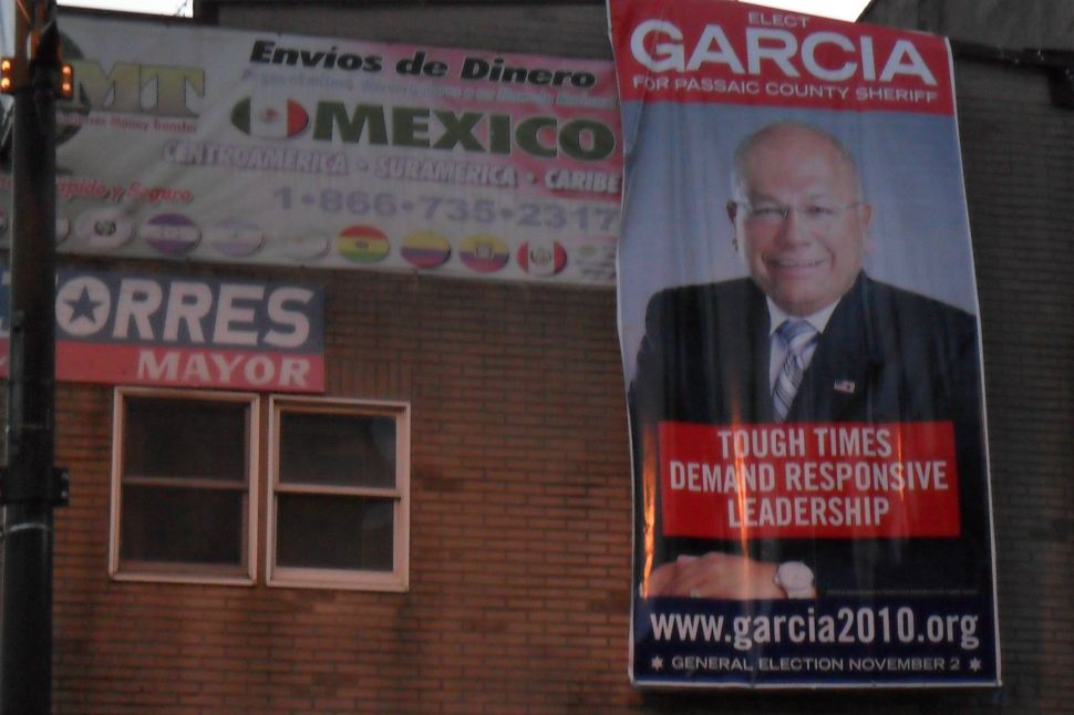 Garcia makes concerted foray into the cities