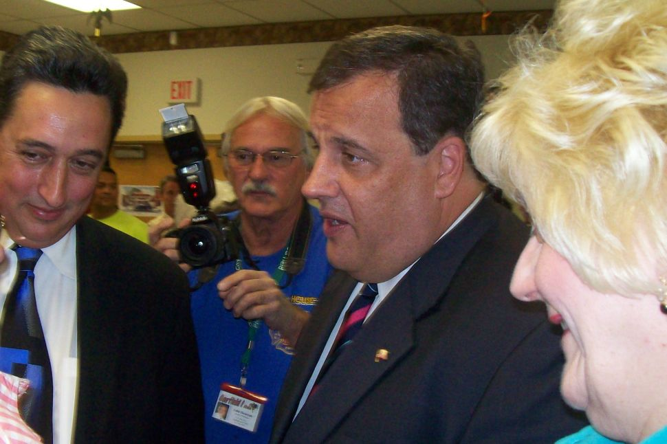 Christie: 'I should be dead now' after Corzine air assault