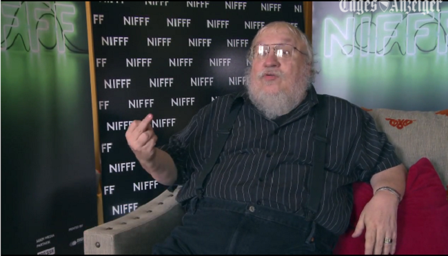 George R.R. Martin: 'F*ck You' to All These Haters (video)